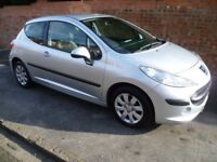 PEUGEOT 207 HDi 1.4, FULL MOT, FULL HISTORY, HPi CLEAR & BRAND NEW CAMBELT & ONLY £30 A YEAR TAX