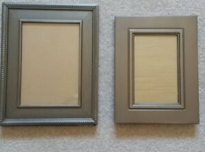 Brand New 2 Pewter Picture Frames & Angel Candle Holder