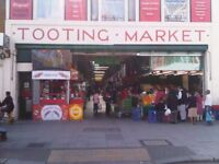 Office Space to Let above Tooting Market in Tooting Broadway SW17
