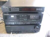 Marantz 2x50watt amp with phono, tuner and cassette deck.
