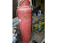 47kg gas bottle and torch