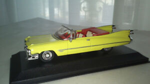Lot of 6 factory built & painted 1/48 (o) scale cars of the 50's