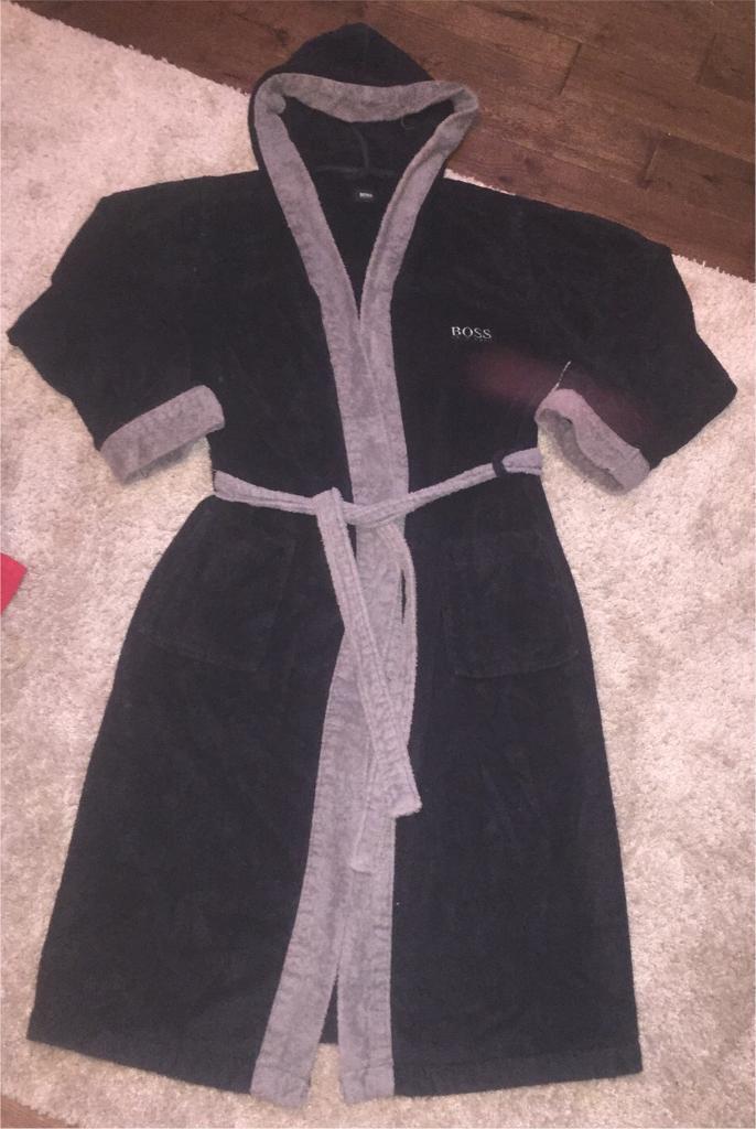 Men\'s Hugo Boss terry towel dressing gown. Size XL. £35   in ...
