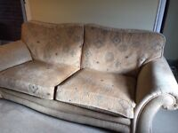 3 Seater Sofa and Matching Armchairs