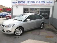 2010 FORD FOCUS 1.6 TITANIUM SERVICE HISTORY HATCHBACK PETROL