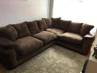 Corner sofa and swivel chair for sale
