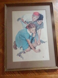 60's NORMEN ROCKWELL PRINT