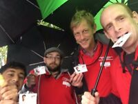 Live-In UK Travelling Door to Door Fundraising £253-441 p/w Plus Bonuses - No Experience Necessary