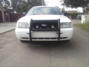 2007 Ford Crown Victoria, police Street appearance