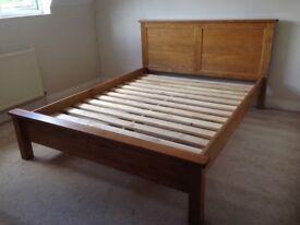 Kingsize bed frame.