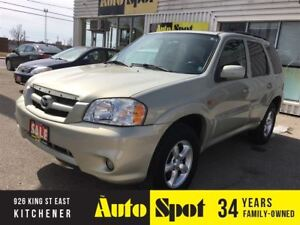 2005 Mazda Tribute GX/LOW, LOW KMS/LEATHER MOONROOF!