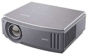 Sony projector with screen