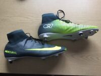 Nike Mercurial rugby boots -Size 10