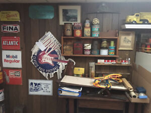 Oil & Gas, Soda Pop Items and much more....NEW STUFF