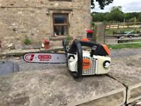 Stihl ms200t chainsaw fully serviced