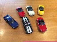 1:18th scale die cast model cars