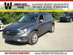2013 Volkswagen Tiguan 2.0 TSI|SUNROOF|LEATHER|50,799 KMS