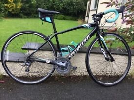 Specialized Ladies Road Bike EQ Dolce 2014 - Small frame