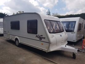Bailey Pageant Moselle 4 berth caravan VGC Ligh To Tow AWNING BARGAIN
