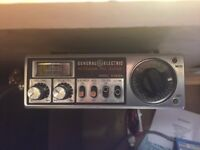 Cb Radio - General Electric 3-5812a - 40 Channel am set recent import from California