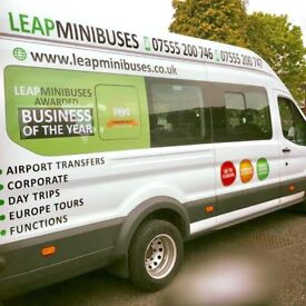 CHEAP MINIBUS HIRE WITH DRIVER - MINIBUS TRANSFERS - 8 TO 70 SEATERS. GET A FREE QUOTE TODAY.