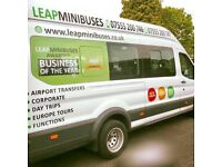 MINIBUS HIRE WITH DRIVER - MINIBUS TRANSFERS - 8 TO 70 SEATERS