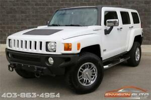 2007 HUMMER H3 SUV LUXURY PKG - LEATHER - NAVIGATION - SUNROOF