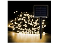 200 LED Garden Solar Powered Fairy Lights - 8 Modes - Waterproof - Party Wedding Christmas & More
