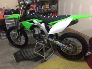 2009 Kawasaki KX450F, excellent condition