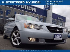 2006 Hyundai Sonata V6 | LEATHER | SUNROOF | LOADED |