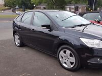 2008 FORD FOCUS 1.6 STYLE AIRCON ALLOYS COMPUTER 12 MONTHS MOT BLACK