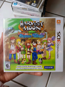 HARVEST MOON SKYTREE VILLAGE *BRAND NEW* *SEALED* by Natsume