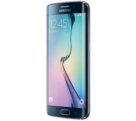 Samsung Galaxy S6 Edge Mobile Phone - Black Saphire