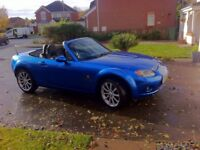 Mazda MX5 2.0 Sport Excellent condition only 27000 miles from new.
