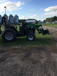 Montana tractor