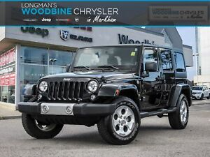 2015 Jeep Wrangler Sahara /Leather Interior/Navigation