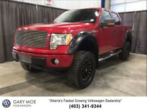 2010 Ford F-150 FX4 Super Crew 6 Lift on 35 tires!