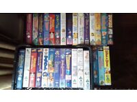 Children's Videos Tapes & Blank Tapes