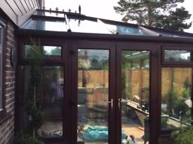 Conservatory Double Glazed - Will be professionally dismantled