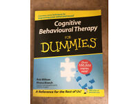 CBT (Cognative Behavioural Therapy) for dummies book.