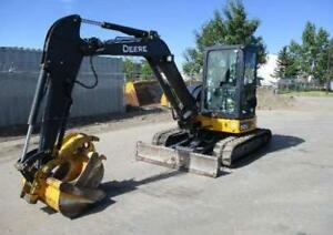 John Deere 50G mini excavator for sale: under full warranty