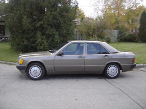 1989 Mercedes-Benz 190-Series Sedan
