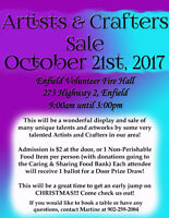 3rd Annual Artists & Crafters Sale