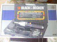 Black & Decker Powerdriver Kit
