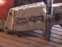 Stihl TS 350 petrol stone cutter