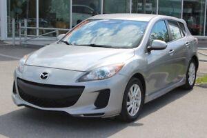 2012 Mazda Mazda3 GS*MAN*BLUETOOTH*AC*CRUISE*SIEGES CHAUFF* GR E