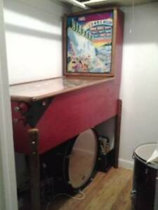 VINTAGE WOODRAIL PINBALL MACHINES WANTED