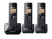 Panasonic KX-2723 Trio Dect Digital Cordless Phones & Answering Machine