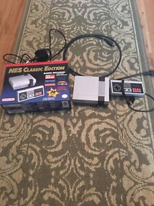 Nintendo NES classic edition mini with 30 games