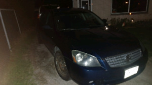 2005 nissan Altima trade for another vehicle